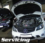 Mercedes Servicing at STR Service Centre Norwich, Norfolk
